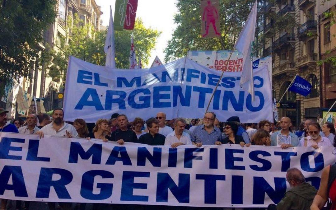 Primer Congreso Nacional de El Manifiesto Argentino