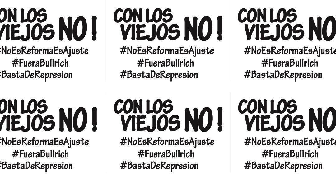 El Manifiesto Argentino ante las políticas antipopulares y represivas del gobierno de Macri