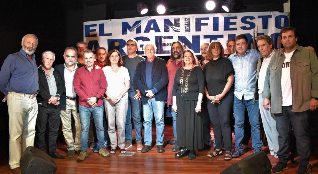 """SE REALIZÓ EL CONGRESO PROVINCIAL DE """"EL MANIFIESTO ARGENTINO"""" CON APOYOS DE VARIOS SECTORES."""